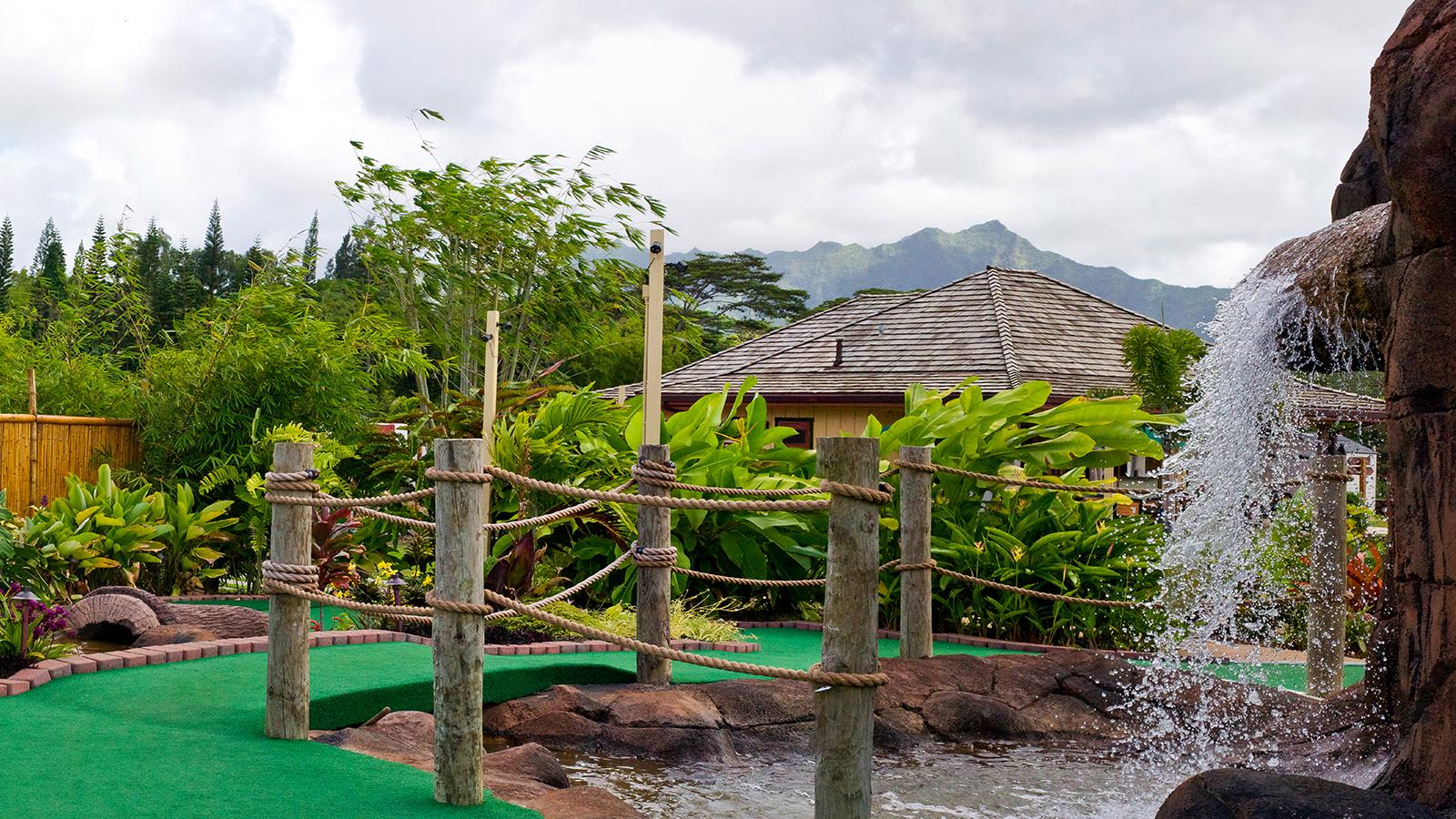 Mini Golf Gardens Anaina Hou Website